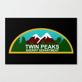 Twin Peaks: Twin Peaks Sheriff's Department Canvas Print