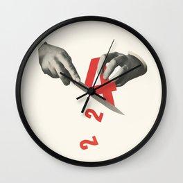 Division (4 ÷ 2) Wall Clock