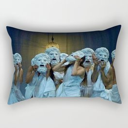 Behind The Mask Rectangular Pillow