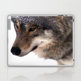 Wolf In the Snow Laptop & iPad Skin