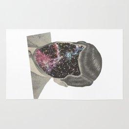 Pink cosmos Rug