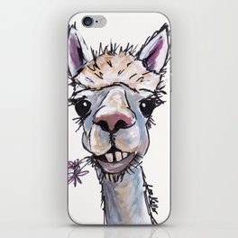 Alpaca Art, Diesel the Alpaca iPhone Skin