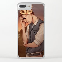 Heavy Lies the Crown Clear iPhone Case