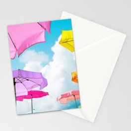 Pastel Beach Stationery Cards