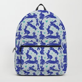 Bunny love - Blueberry edition Backpack