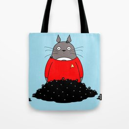 The Trouble With Sprites - Red Shirt Version Tote Bag