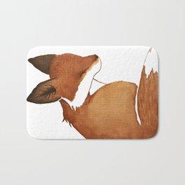 Resting Fox Bath Mat