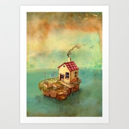 fisher Art Print