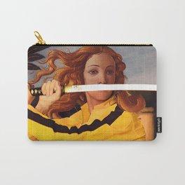 Botticelli's Venus & Beatrix Kiddo in Kill Bill Carry-All Pouch