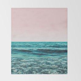Ocean Love #society6 #oceanprints #buyart Throw Blanket