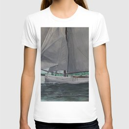 Tally Ho - A yacht worth saving T-shirt