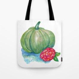 Green pumpkin Tote Bag