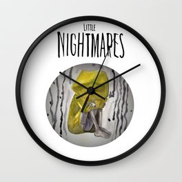 Little Nightmares of Six Wall Clock