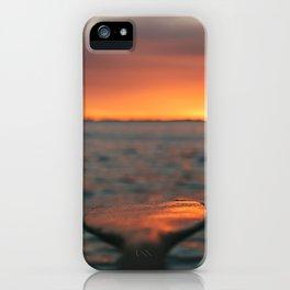 Paddled Reflection iPhone Case