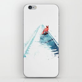 From nowhere to nowhere iPhone Skin