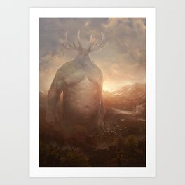 Sylvan Colossus Art Print