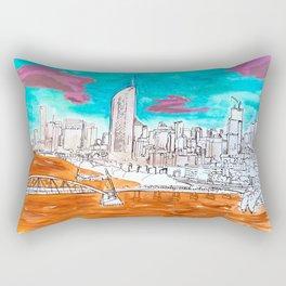 BRISBANE POSTCARD SERIES 007 Rectangular Pillow