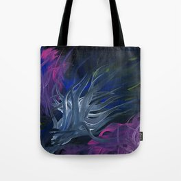 Entwined in Darkness Tote Bag