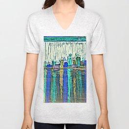 Paint the Town Unisex V-Neck