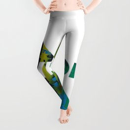 Color Chrome - Awesome graphic Leggings