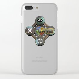 Eat-Sleep-Game-Repeat Epic Graphics Illustration All Gamer Must Have Clear iPhone Case