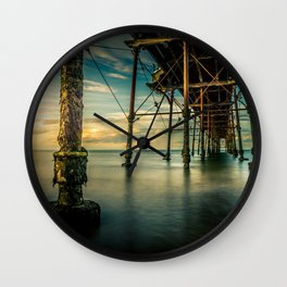 Deep Rising Wall Clock