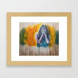 onzichtbaar Framed Art Print