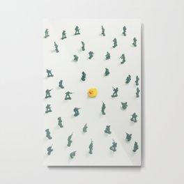Unidentified Yellow Object Metal Print