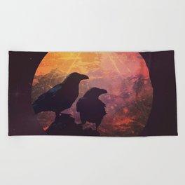 Corvus Beach Towel