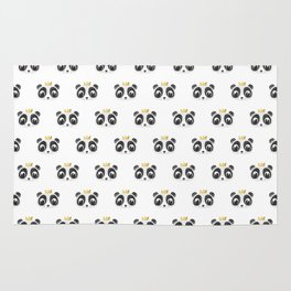 Panda King [Pattern] Rug