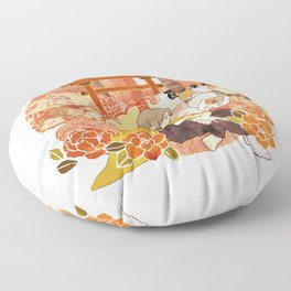 Takashi Natsume, Quiet Flowers Floor Pillow