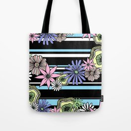 Floral Candy Tote Bag