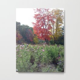 Autumn Finds Me Metal Print