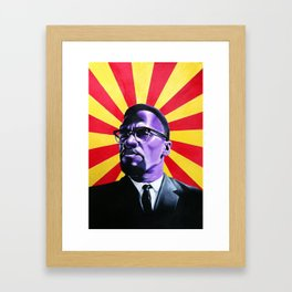 Almighty Malcolm Framed Art Print
