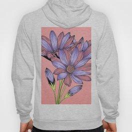 Pink and Purple Flowers Hoody