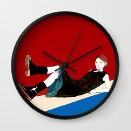 sae-red Wall Clock