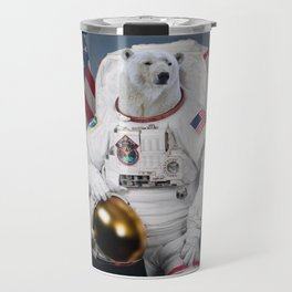 Where No Polar Bear Has Gone Before Travel Mug