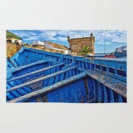 Essaouira port Morocco Rug
