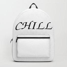 Funny Chill Backpack