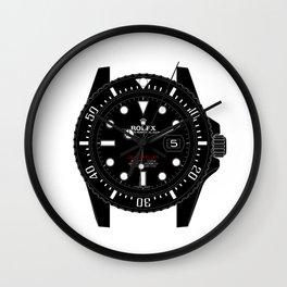 Rolex 50th Anniversary Sea-Dweller 126600 - Titan Black DLC Wall Clock