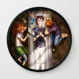 The Darkest Part of the Forest Wall Clock