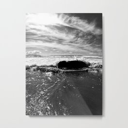 to New Zealand Metal Print