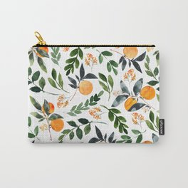 Orange Grove Carry-All Pouch