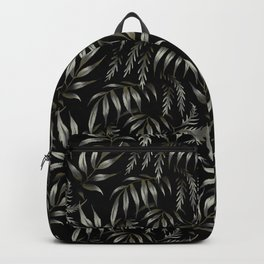 Brooklyn Forest - Black Backpack