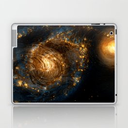 Starry Galaxy Night Laptop & iPad Skin