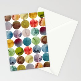 Paint pattern Stationery Cards