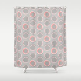 Solar Eclipse MCM Baby Rose Shower Curtain