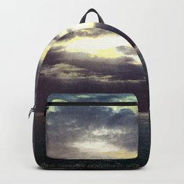Vintage Sunset Waters : St Lawrence River 1901 Backpack