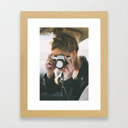 Second Shooter Framed Art Print