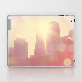 downtown Los Angeles skyline photograph. City of Lights Laptop & iPad Skin